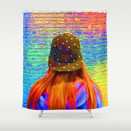 When You Knock Me Down... Shower Curtain