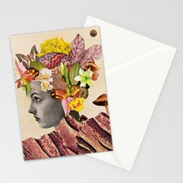 She Moves Mountains Original  Stationery Cards