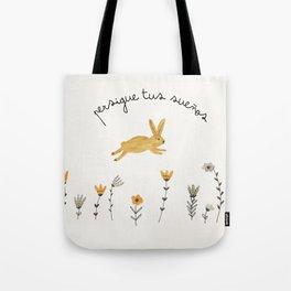bunny dreams Tote Bag