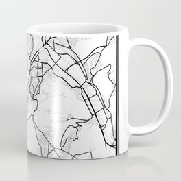 Stuttgart Light City Map Coffee Mug