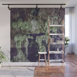 Grunge Camouflage Texture Print Wall Mural
