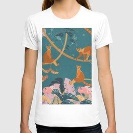 Lemurs in the jungle T-shirt