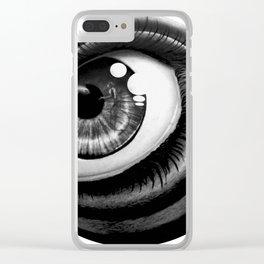 Sea eye Clear iPhone Case