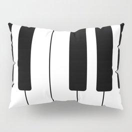 Piano Keys - Music Pillow Sham