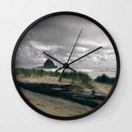 Cannon Beach IV Wall Clock