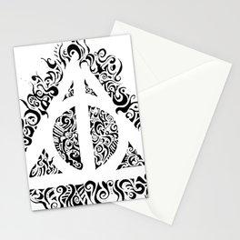 Reliquias de la muerte con formas mágicas Stationery Cards