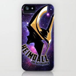Heimdall - the Gatekeeper iPhone Case