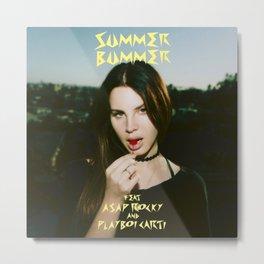 Summer Bummer Metal Print