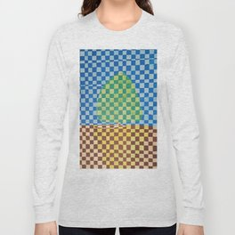 Tree in Field Long Sleeve T-shirt