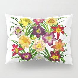Display of daylilies I Pillow Sham