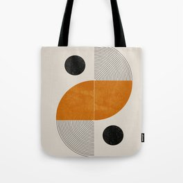 Abstract Geometric Shapes Tote Bag