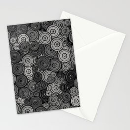 Heavy iron / 3D render of hundreds of heavy weight plates Stationery Cards