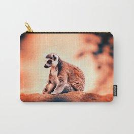 Portrait Of Lemur Carry-All Pouch