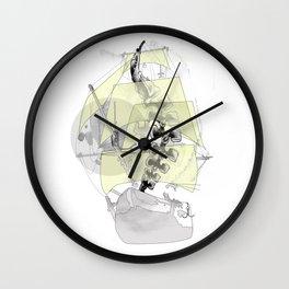 Backbone ship Wall Clock