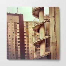Niemeyer. Saö Paùlo. Metal Print