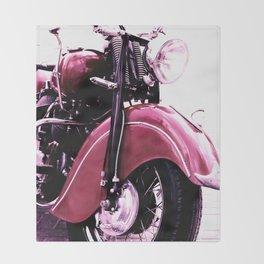 Motorcycle Throw Blanket