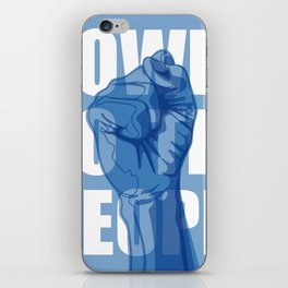 Power to the People iPhone Skin