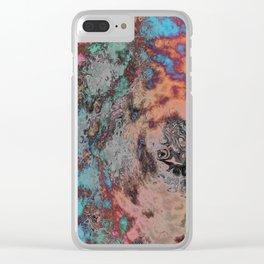Cosmic Fog Clear iPhone Case