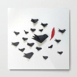 Birds for peace Metal Print