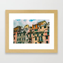 "Travel photography print ""Colorful Italy"" photo art made in Italy. Art Print Art Print Framed Art Print"