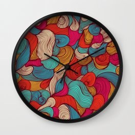 Magic water coctail Wall Clock