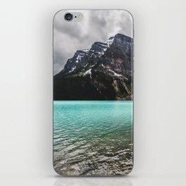 Mountain Photography Landscape Glaciers Turquoise Lake Water Beautiful Nature iPhone Skin