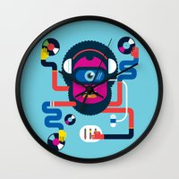 dj Wall Clocks featuring DJ by Katboy 7