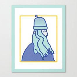 Wiltzar the Wizard Canvas Print
