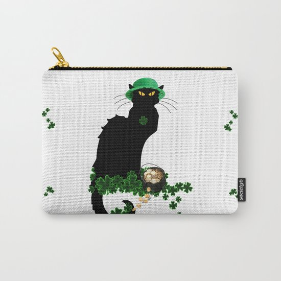 Le Chat Noir - St Patrick's Day Carry-All Pouch