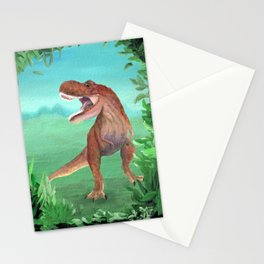 T-Rex Dinosaur Roar Stationery Cards