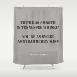 Tennessee Whiskey Shower Curtain