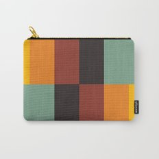 Stripes and swatches Carry-All Pouch