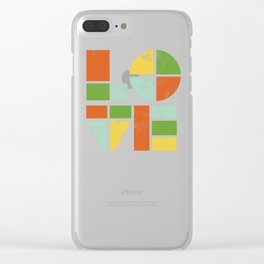 Love is Clear iPhone Case