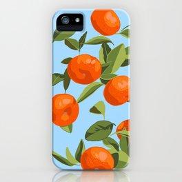 Good Luck Mandarin Oranges iPhone Case
