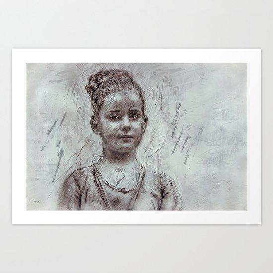 Vanjalina Art Print