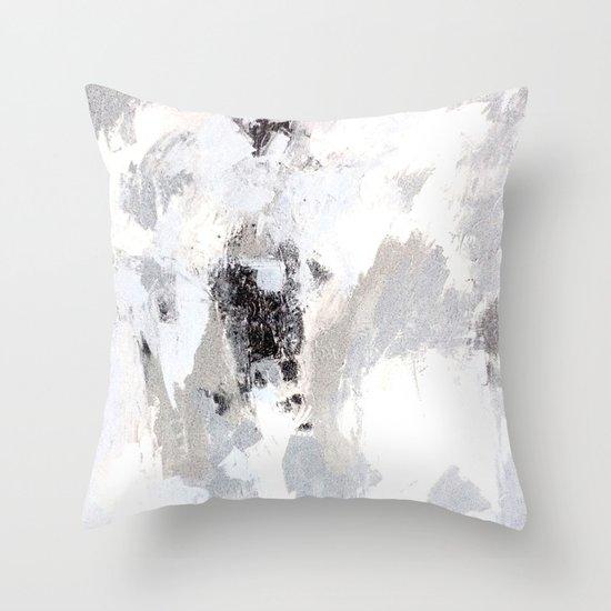 calm winter Throw Pillow