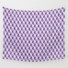 Unicorn Honeycomb Wall Tapestry
