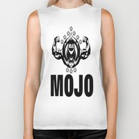 fitness Biker Tanks featuring MOJO FITNESS  by Robleedesigns
