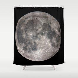 Full Harvest Moon #2 Shower Curtain