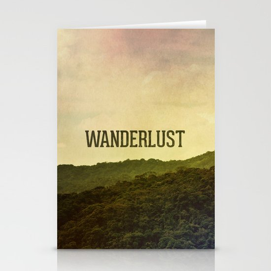 Wanderlust I Stationery Cards
