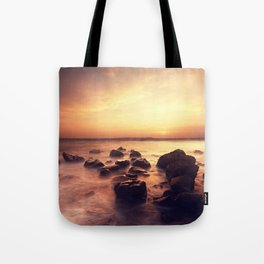 Rocky Surf Tote Bag