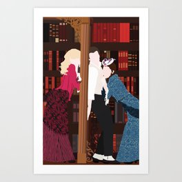 I'VE DECIDED TO MARRY YOU – A GENTLEMAN'S GUIDE TO LOVE AND MURDER Art Print