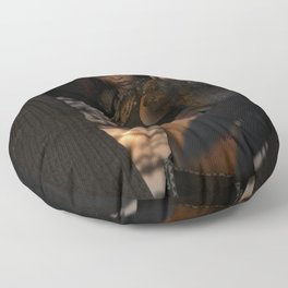 The Morrigan's Acorn Floor Pillow