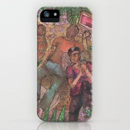 gay and tropical iPhone Case