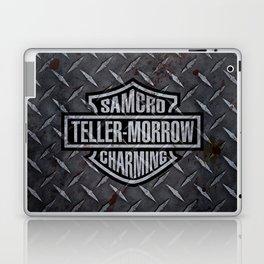 SAMCRO Teller-Morrow of Charming (Sons of Anarchy / Harley-Davidson) Laptop & iPad Skin