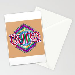 """CUBA"" Stationery Cards"