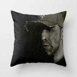 I am the rogue sparrow Throw Pillow
