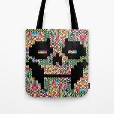 The Black smiles Tote Bag