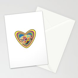 Love Van Stationery Cards