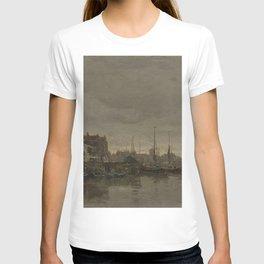 Jacob Maris - De Schreierstoren met de brug over de Gelderse Kade te Amsterdam T-shirt